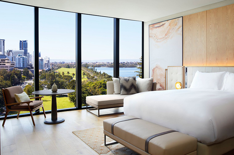 Deluxe King Room, Ritz-Carlton Perth