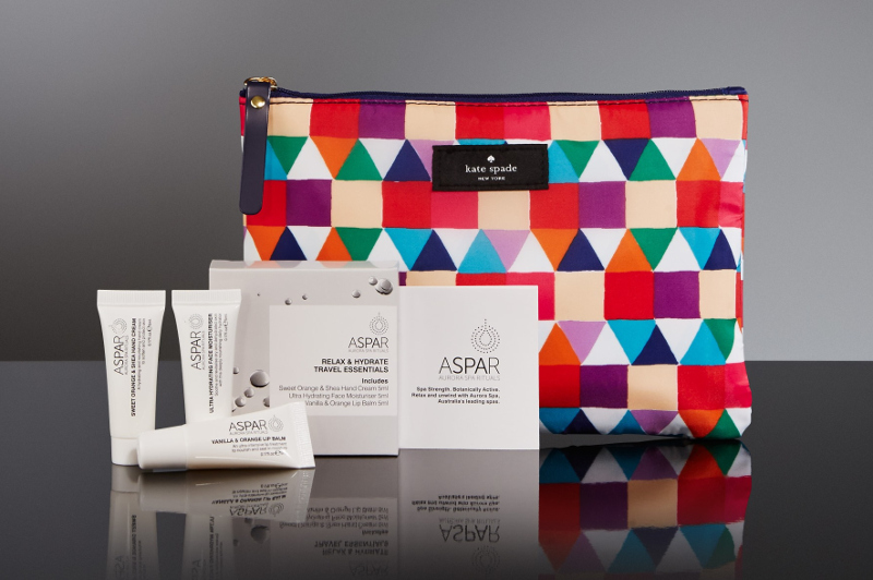 Qantas First and Business Amenity Pack
