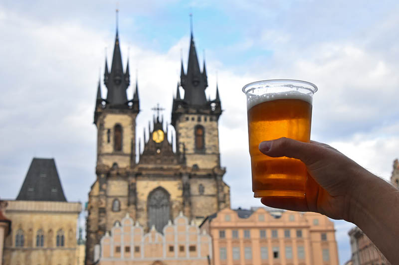 Beer in Prague