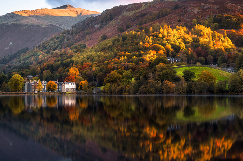 "Grasmere, Lake District – a village Wordsworth (a romantic poet) described as ""the loveliest spot that man hath ever found""."