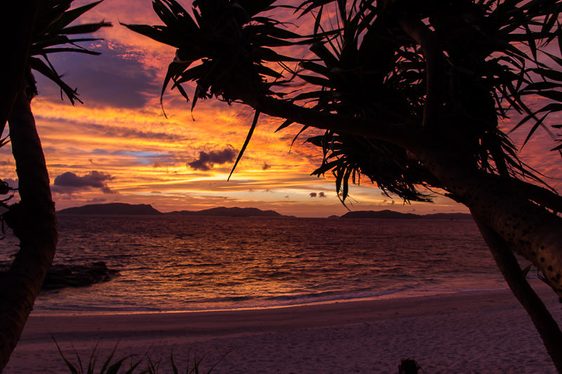 Sunset from the Kerama Islands